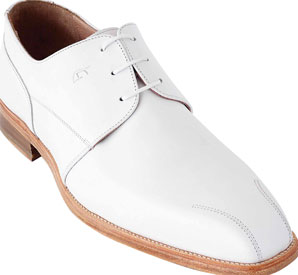 Chaussures tout cuir Astoria blanche