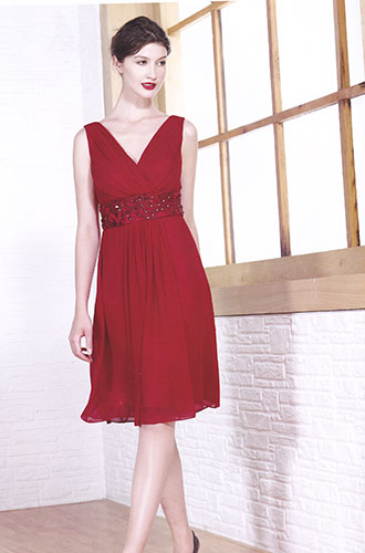 Robe 922 bordeaux