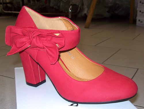 Chaussures 17850 rouge