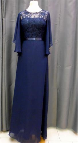 Robe 7193 bleu marine