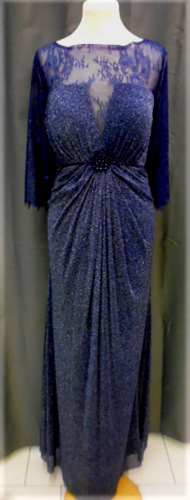 Robe 8017 bleu marine