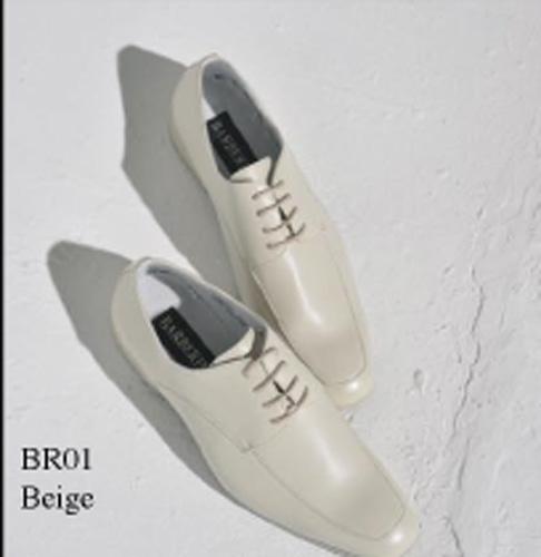 Chaussures beige à lacets