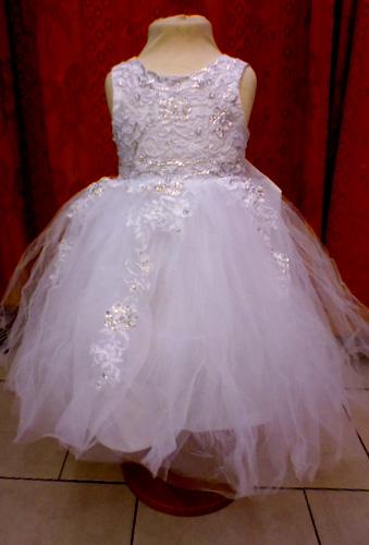 Robe Pincesse blanche 564