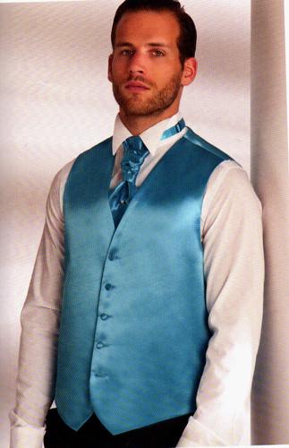 Gilet 2002-26 turquoise
