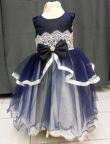 Robe bleu marine 210