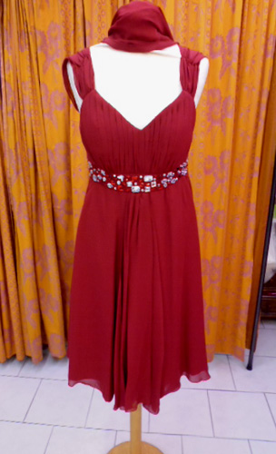 Robe 665 bordeaux
