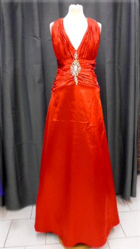 Robe vera rouge