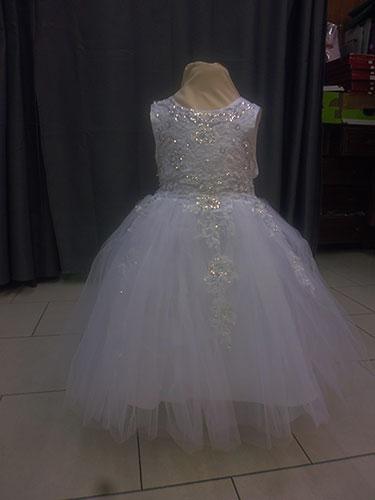 Robe RO-564 blanche