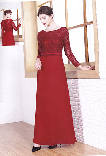 Robe 8085b bordeaux