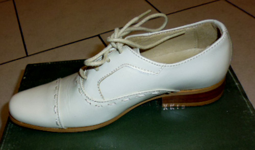 Chaussures 4089 cuir ivoire