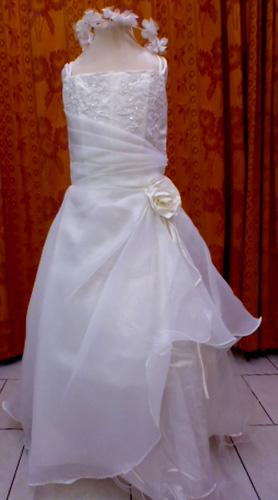 Robe 1009 blanche