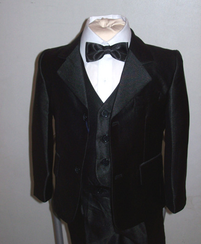 Costume 3 pieces noir