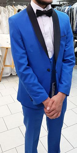 Costume 3 pièces B90 bleu