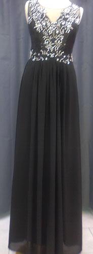 Robe longue 1147 noir