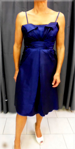 Robe bleu marine 656