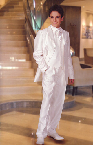 Costume enfant renas off-white-blanc
