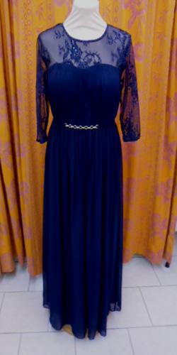 Robe R995 bleu marine