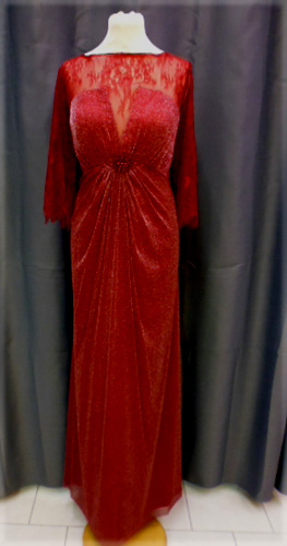 Robe bordeaux 8017