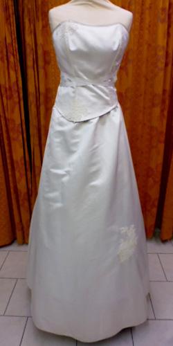 Robe modulable blanche