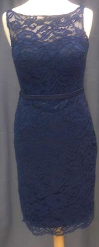 Robe courte 8011 bleu-marine