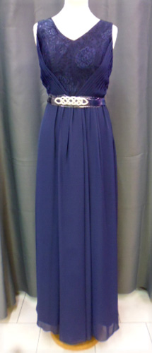 Robe 8015 bleu marine