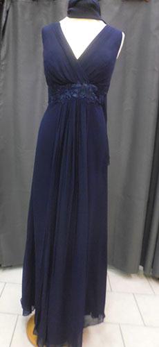 Robe 8134 bleu-marine