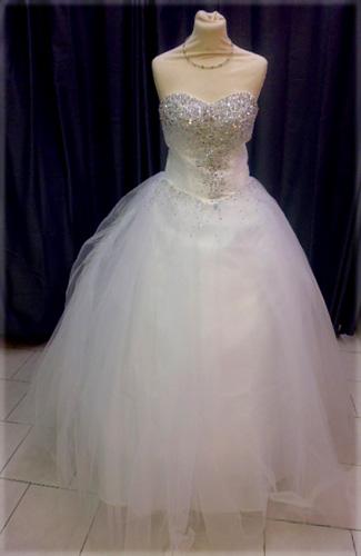 Robe 1162 blanche