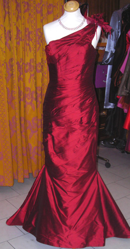 Robe Ephèmere bordeaux
