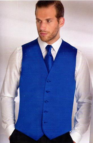 Gilet 2002-07 bleu roy