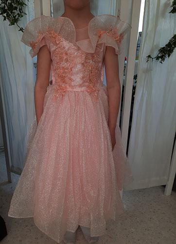 Robe rose656