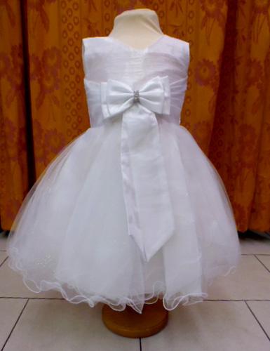 robe 8069 blanche