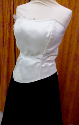 Robe Modulable blanche et noire