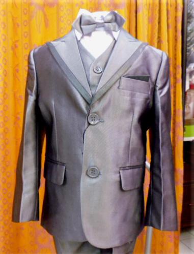 Costume gris 4 pieces Ref:136