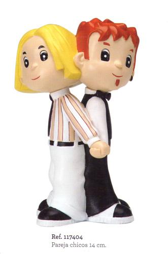Figurines gateau de mariage 117404