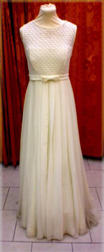 Robe Laura ivoire
