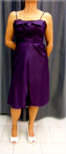 Robe 656 violette