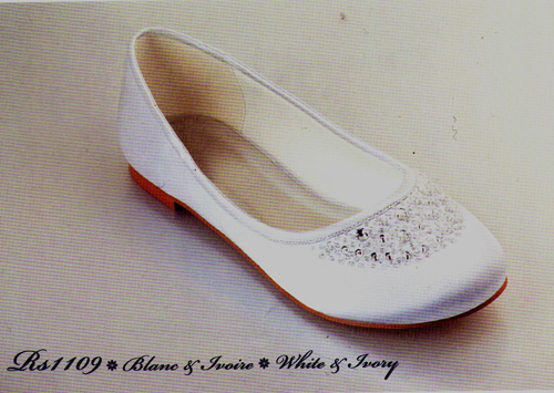 Ballerines RS1109 blanches