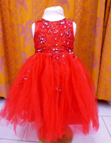 Robe Princesse rouge 564