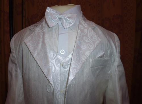 Costume enfant 5 pièces blanc