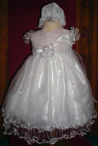 Robe enfant 900 blanche