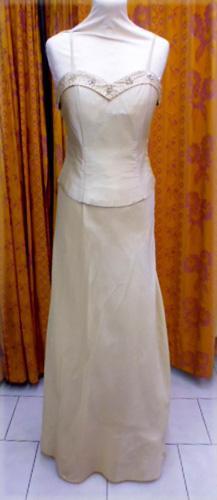 Robe doré c7123