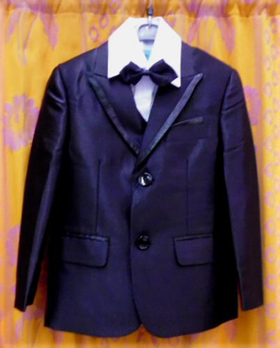 Costume 4 pièces noir Réf:136