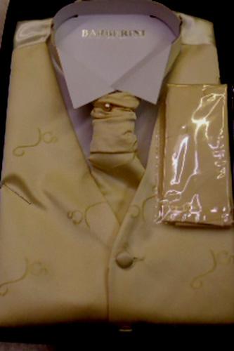 Gilet Azur beige