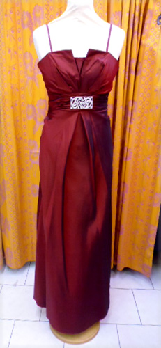 Robe 639 bordeaux