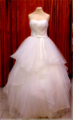 Robe incarnita blanche