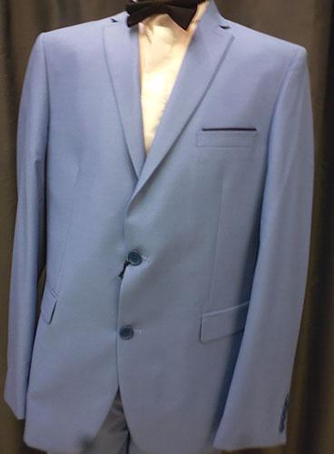 Costume SM10 bleu ciel deux pièces