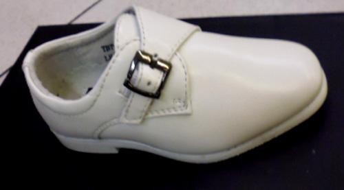 Chaussures enfants blanches avec boucle