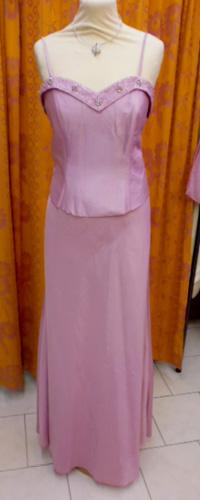 Robe C7123 rose