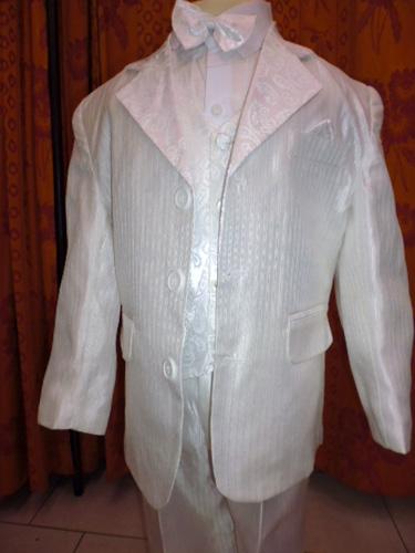 Costume 5 pièces blanc 144
