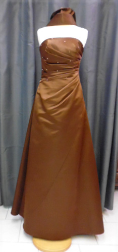 Robe Buccolique marron